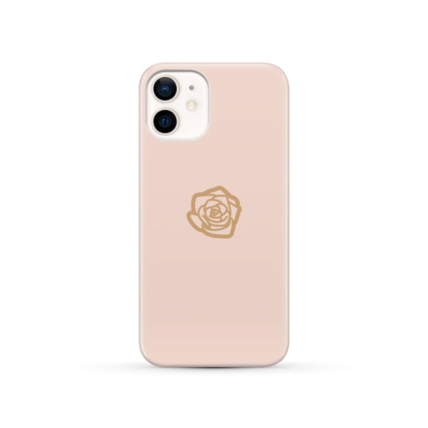 Pink Sand Gold Rose for Amazing iPhone 12 Case Cover