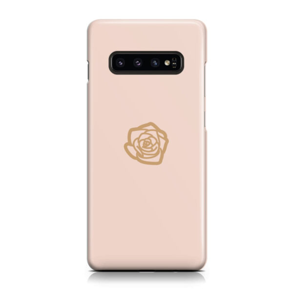 Pink Sand Gold Rose for Amazing Samsung Galaxy S10 Case