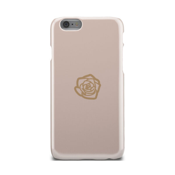 Pink Sand Gold Rose for Beautiful iPhone 6 Case