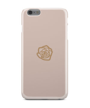 Pink Sand Gold Rose for Best iPhone 6 Plus Case