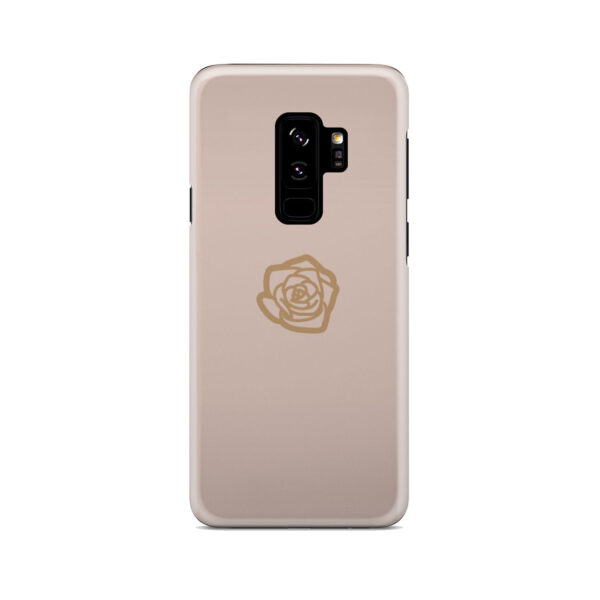 Pink Sand Gold Rose for Best Samsung Galaxy S9 Plus Case Cover