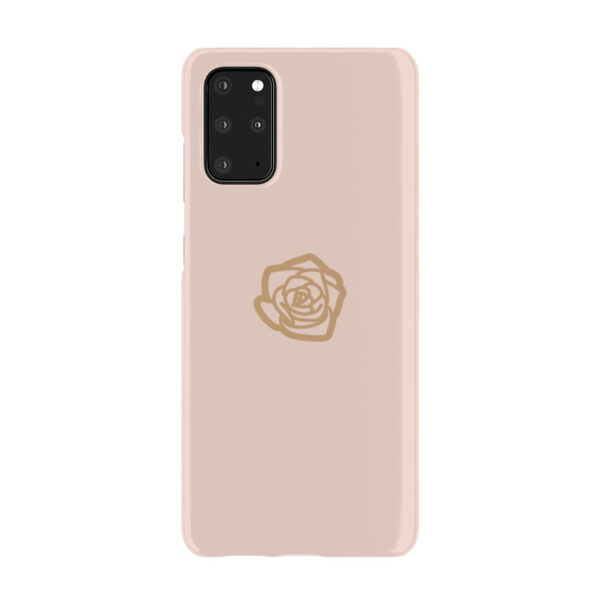 Pink Sand Gold Rose for Custom Samsung Galaxy S20 Plus Case