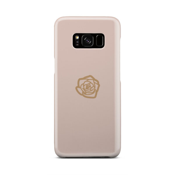 Pink Sand Gold Rose for Custom Samsung Galaxy S8 Case