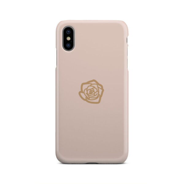 Pink Sand Gold Rose for Customized iPhone XS Max Case
