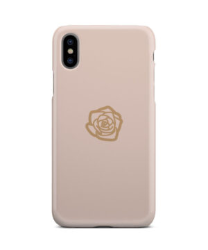 Pink Sand Gold Rose for Cute iPhone X / XS Case Cover