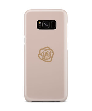 Pink Sand Gold Rose for Newest Samsung Galaxy S8 Plus Case Cover