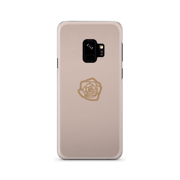 Pink Sand Gold Rose for Newest Samsung Galaxy S9 Case Cover