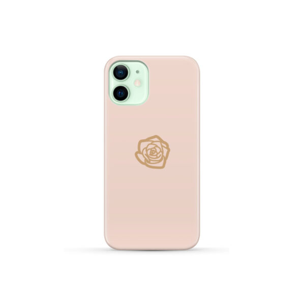 Pink Sand Gold Rose for Nice iPhone 12 Mini Case