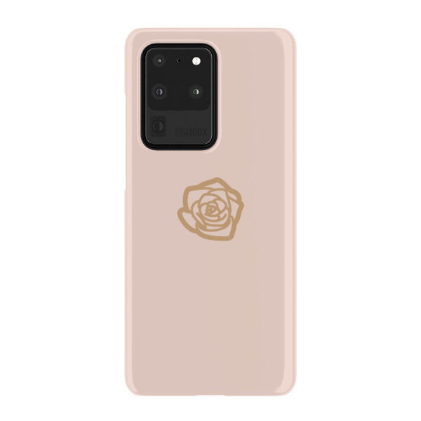 Pink Sand Gold Rose for Nice Samsung Galaxy S20 Ultra Case Cover