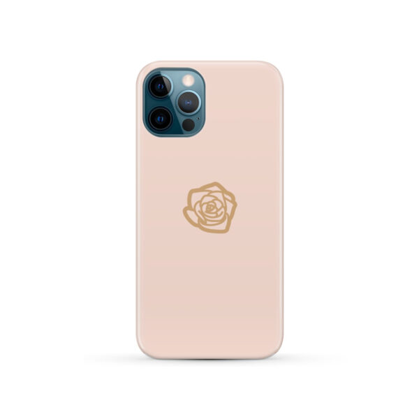 Pink Sand Gold Rose for Personalised iPhone 12 Pro Case