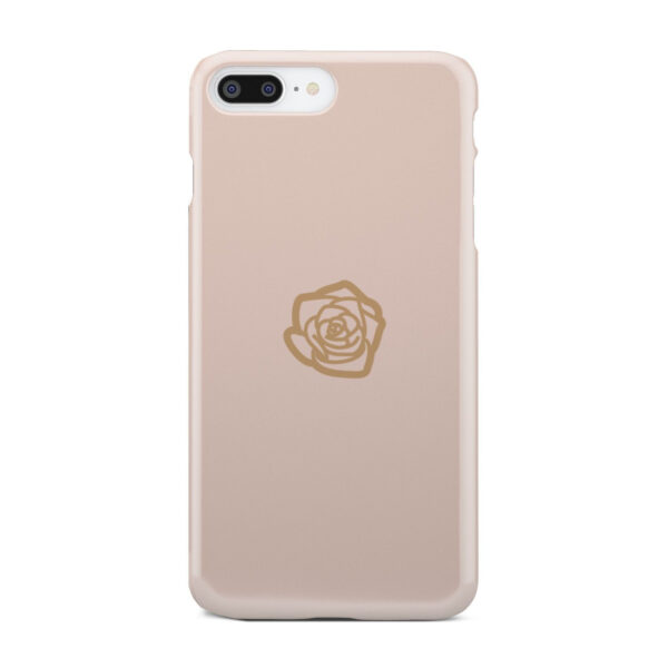 Pink Sand Gold Rose for Personalised iPhone 8 Plus Case