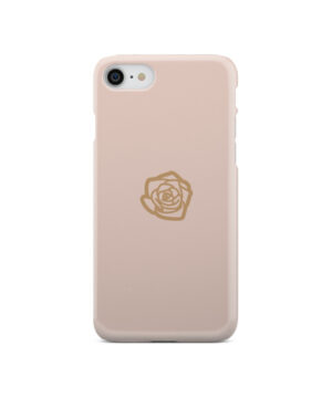 Pink Sand Gold Rose for Personalised iPhone SE 2020 Case