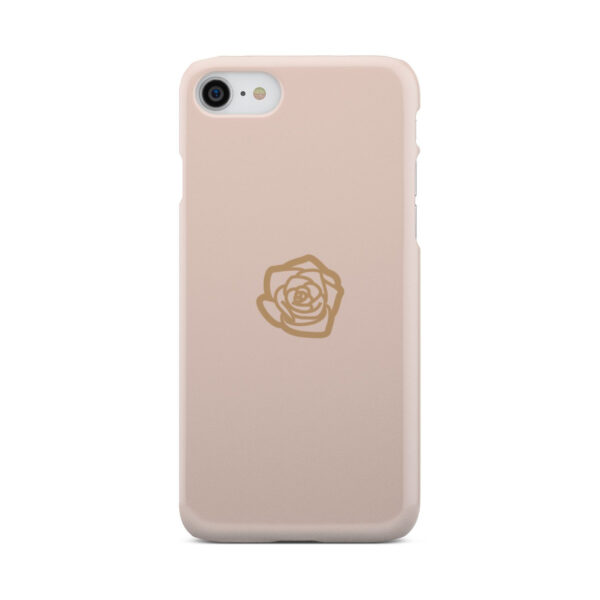 Pink Sand Gold Rose for Trendy iPhone 7 Case