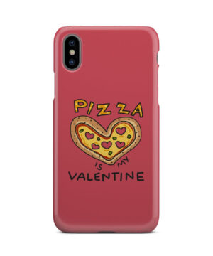 Pizza is My Valentine for Beautiful iPhone X / XS Case Cover