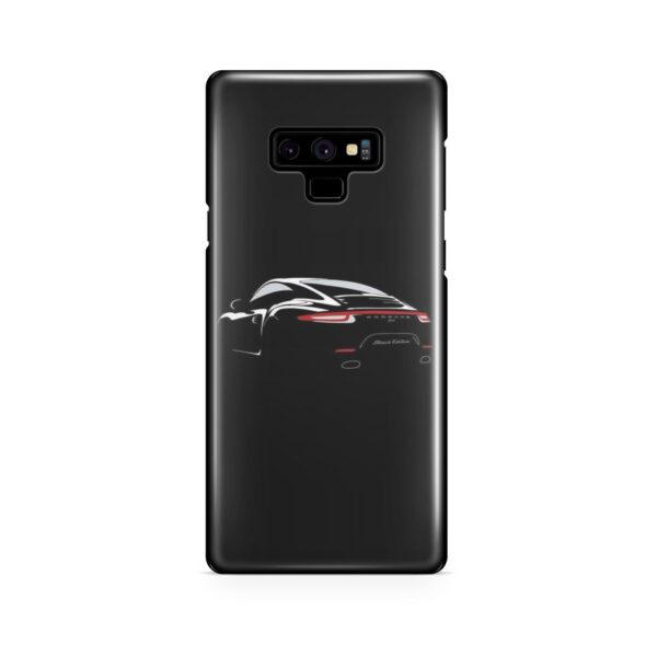 Porsche Panamera Black Edition for Beautiful Samsung Galaxy Note 9 Case