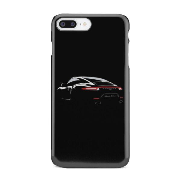 Porsche Panamera Black Edition for Cool iPhone 7 Plus Case Cover