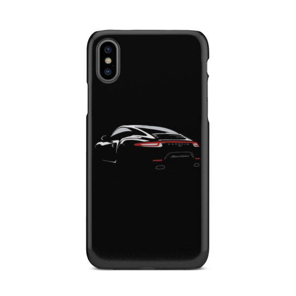 Porsche Panamera Black Edition for Cute iPhone X / XS Case Cover