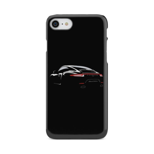 Porsche Panamera Black Edition for Personalised iPhone 8 Case Cover