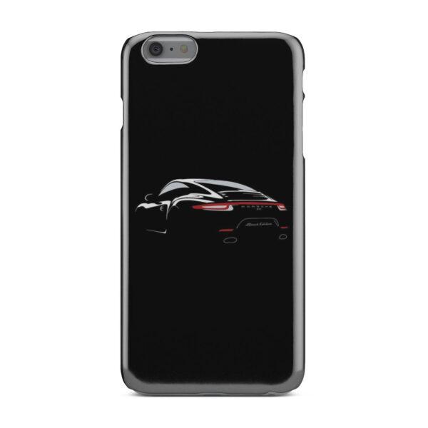 Porsche Panamera Black Edition for Simple iPhone 6 Plus Case