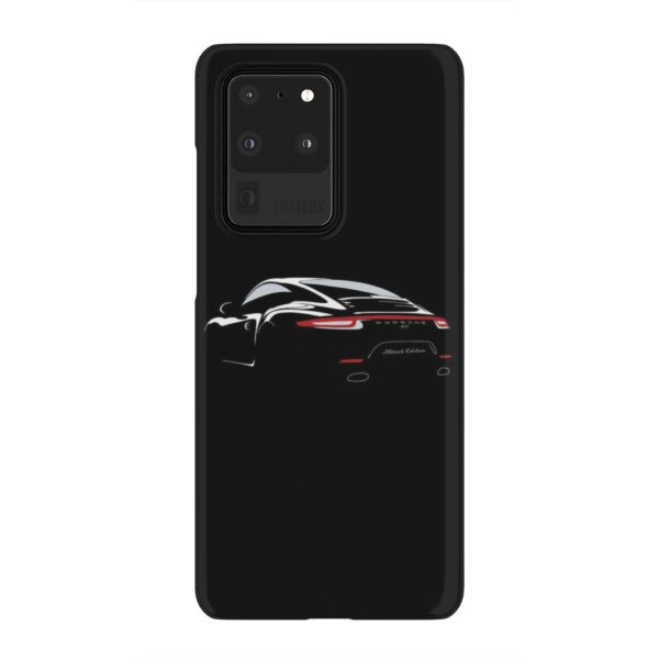 Porsche Panamera Black Edition for Simple Samsung Galaxy S20 Ultra Case