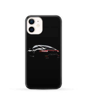 Porsche Panamera Black Edition for Unique iPhone 12 Case Cover