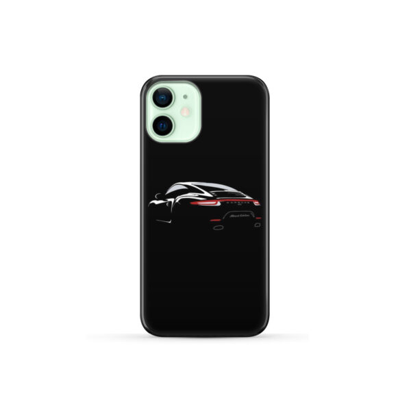 Porsche Panamera Black Edition for Unique iPhone 12 Mini Case Cover