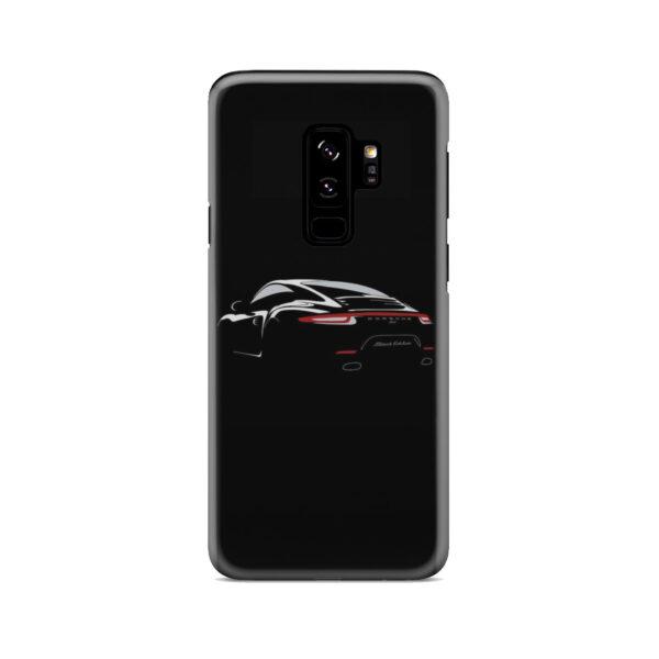 Porsche Panamera Black Edition for Unique Samsung Galaxy S9 Plus Case Cover