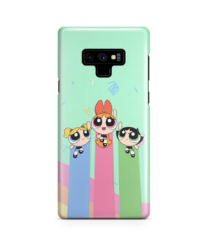 Powerpuff Girls Fly for Amazing Samsung Galaxy Note 9 Case