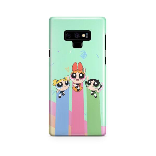 Powerpuff Girls Fly for Amazing Samsung Galaxy Note 9 Case