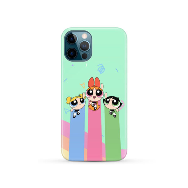Powerpuff Girls Fly for Beautiful iPhone 12 Pro Case Cover