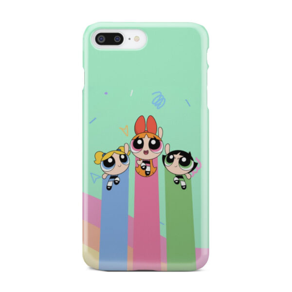 Powerpuff Girls Fly for Custom iPhone 7 Plus Case