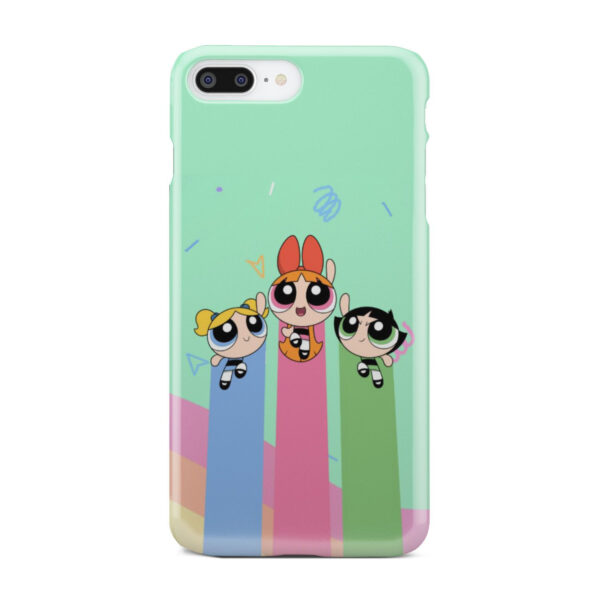 Powerpuff Girls Fly for Custom iPhone 8 Plus Case