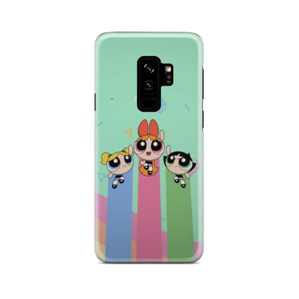 Powerpuff Girls Fly for Cute Samsung Galaxy S9 Plus Case Cover