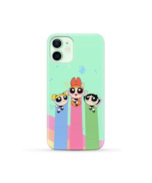 Powerpuff Girls Fly for Newest iPhone 12 Mini Case