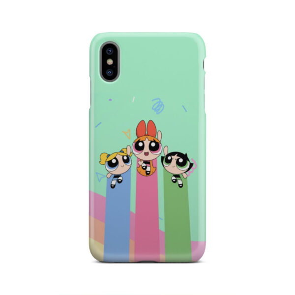 Powerpuff Girls Fly for Nice iPhone XS Max Case