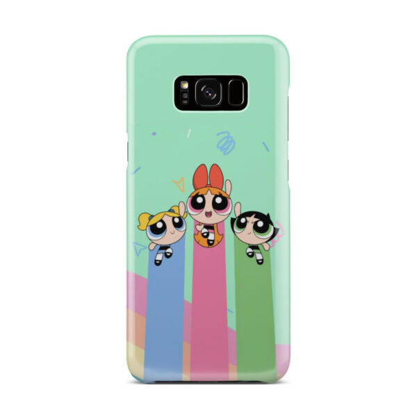 Powerpuff Girls Fly for Premium Samsung Galaxy S8 Plus Case Cover
