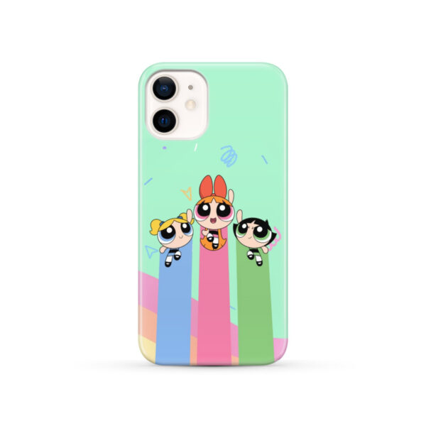 Powerpuff Girls Fly for Trendy iPhone 12 Case