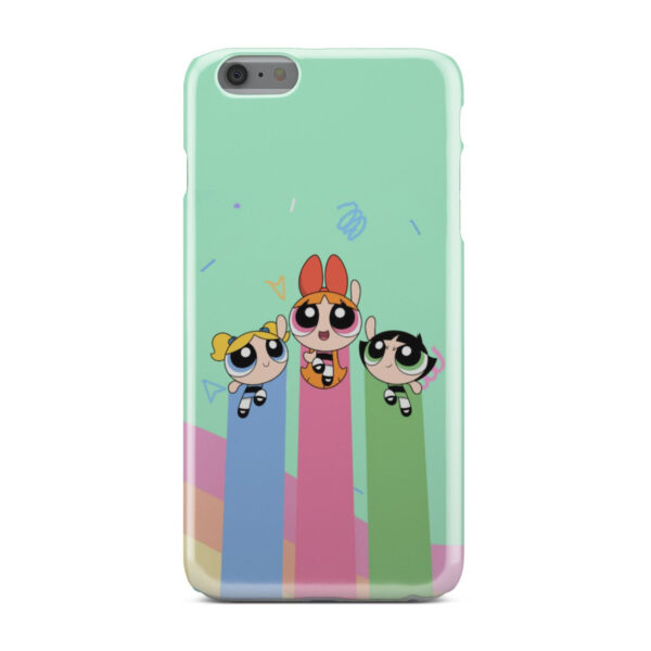 Powerpuff Girls Fly for Trendy iPhone 6 Plus Case Cover