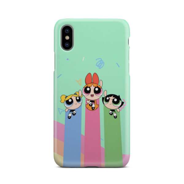Powerpuff Girls Fly for Trendy iPhone X / XS Case
