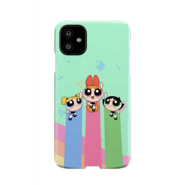 Powerpuff Girls Fly for Unique iPhone 11 Case
