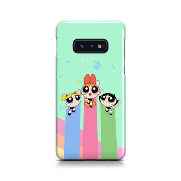 Powerpuff Girls Fly for Unique Samsung Galaxy S10e Case