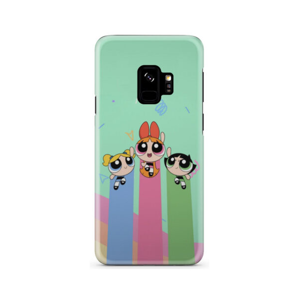 Powerpuff Girls Fly for Unique Samsung Galaxy S9 Case Cover