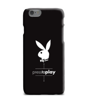 Press to Play Bunny Logo for Best iPhone 6 Plus Case