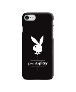 Press to Play Bunny Logo for Stylish iPhone SE (2020) Case