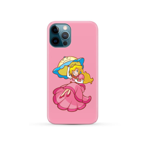 Princess Peach Super Mario for Newest iPhone 12 Pro Case