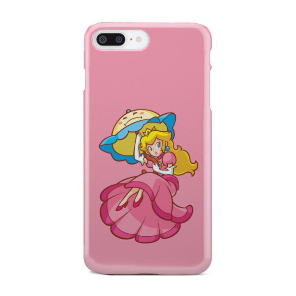 Princess Peach Super Mario for Personalised iPhone 7 Plus Case