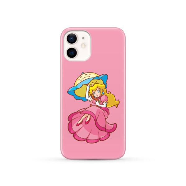 Princess Peach Super Mario for Trendy iPhone 12 Case Cover