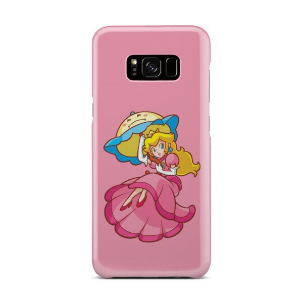 Princess Peach Super Mario for Unique Samsung Galaxy S8 Plus Case Cover