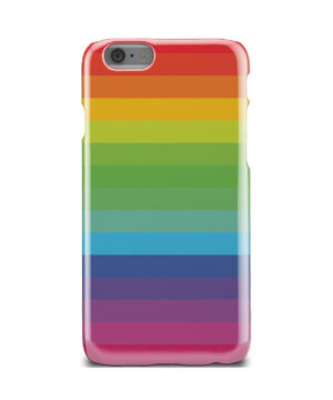 Rainbow Lines for Beautiful iPhone 6 Case