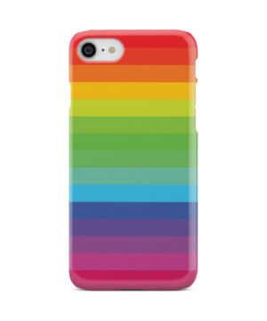 Rainbow Lines for Beautiful iPhone 8 Case